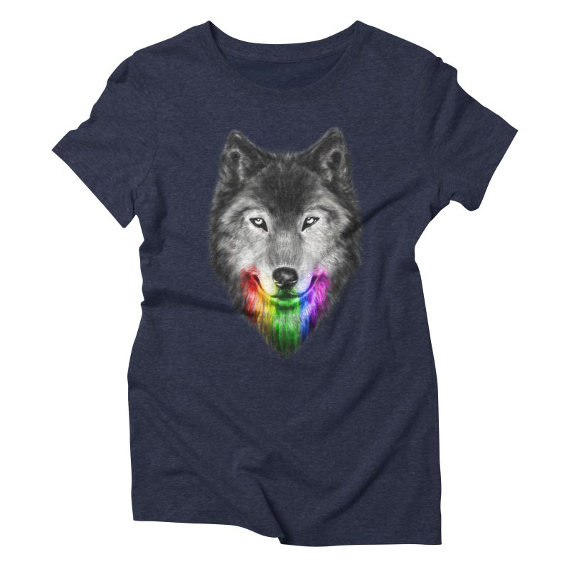 The Obsession of Chroma Women's Triblend T-Shirt by flintskyy's Artist Shop