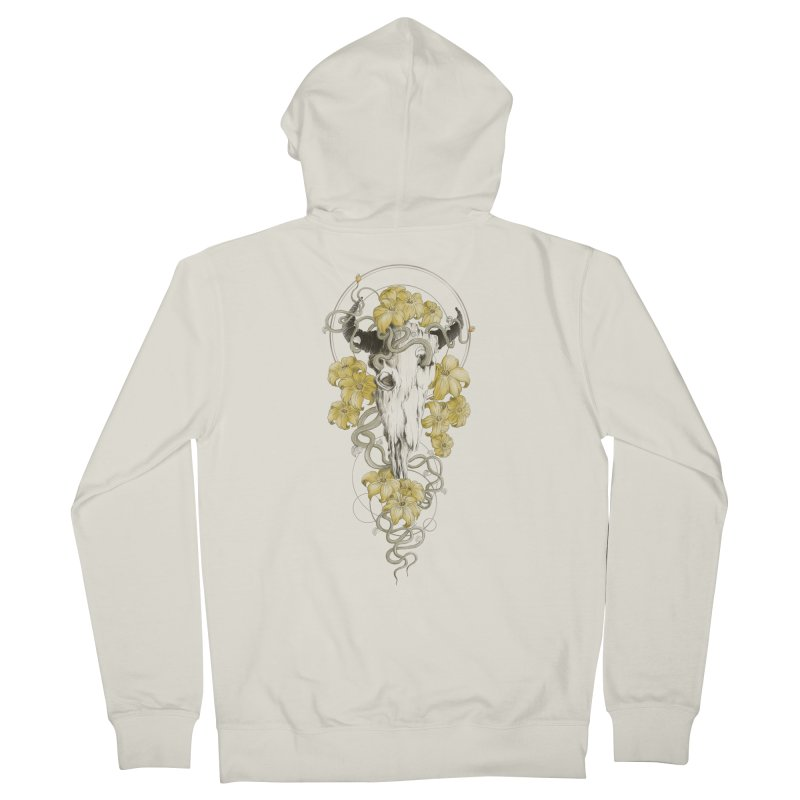 Forgotten Terror Women's French Terry Zip-Up Hoody by flintskyy's Artist Shop
