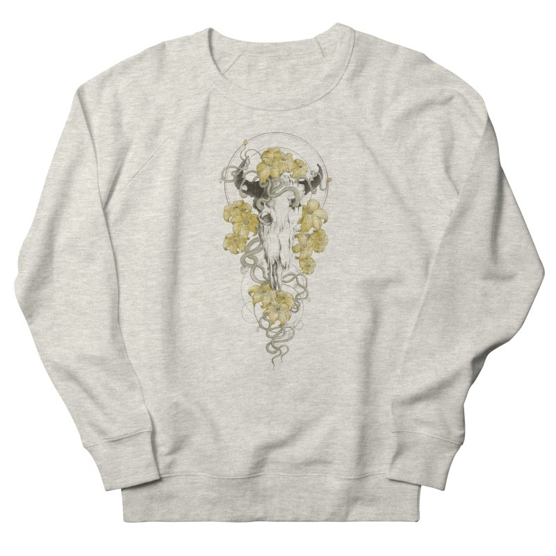 Forgotten Terror Men's French Terry Sweatshirt by flintskyy's Artist Shop