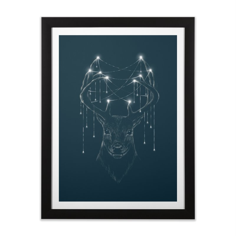 Light Source Home Framed Fine Art Print by flintskyy's Artist Shop
