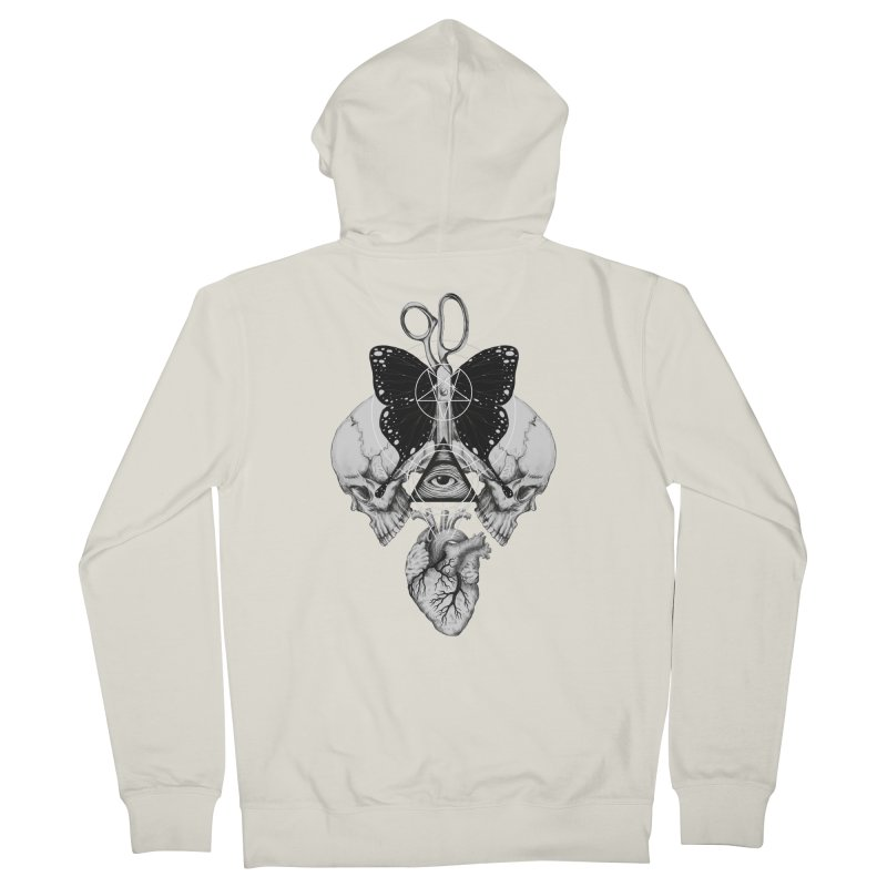 Remona Spell Women's Zip-Up Hoody by flintskyy's Artist Shop