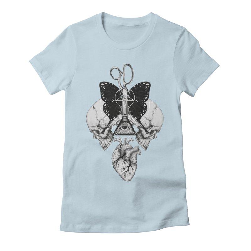 Remona Spell Women's Fitted T-Shirt by flintskyy's Artist Shop