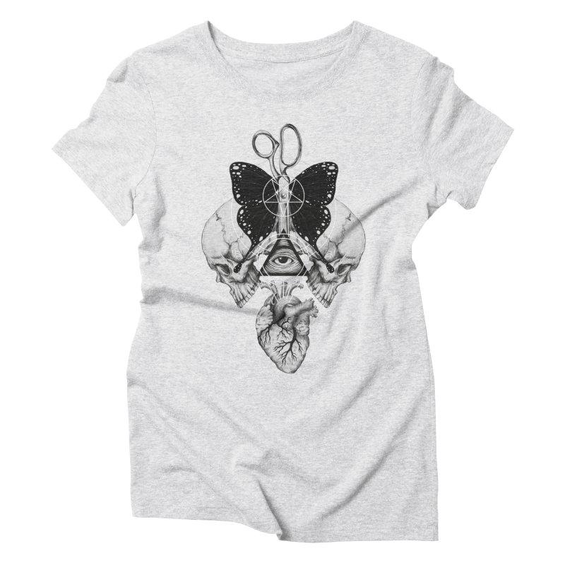 Remona Spell Women's Triblend T-Shirt by flintskyy's Artist Shop