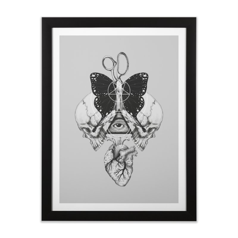 Remona Spell Home Framed Fine Art Print by flintskyy's Artist Shop