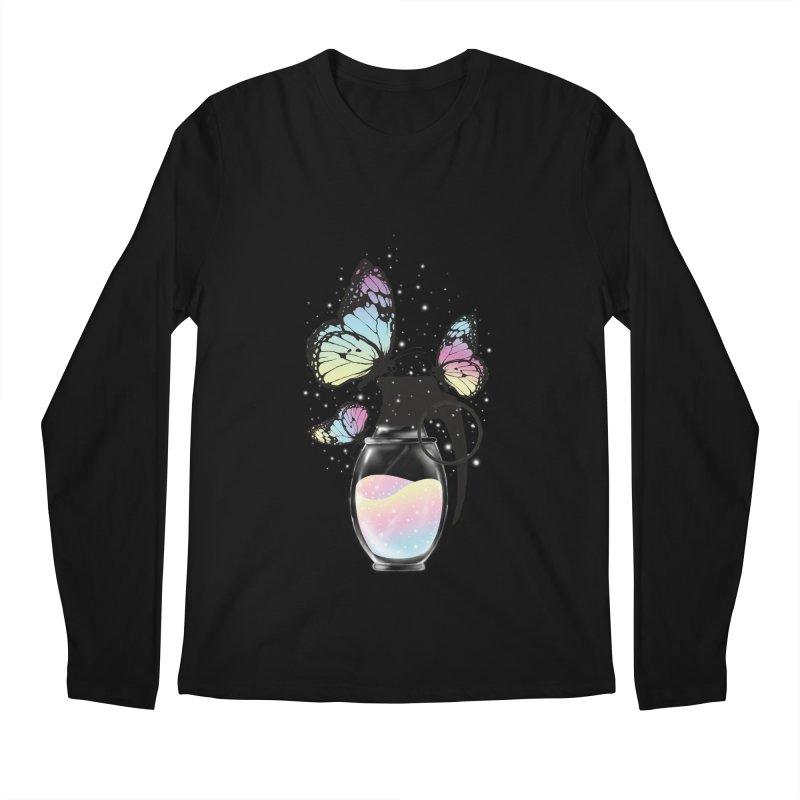 Positive Destruction Men's Regular Longsleeve T-Shirt by flintskyy's Artist Shop