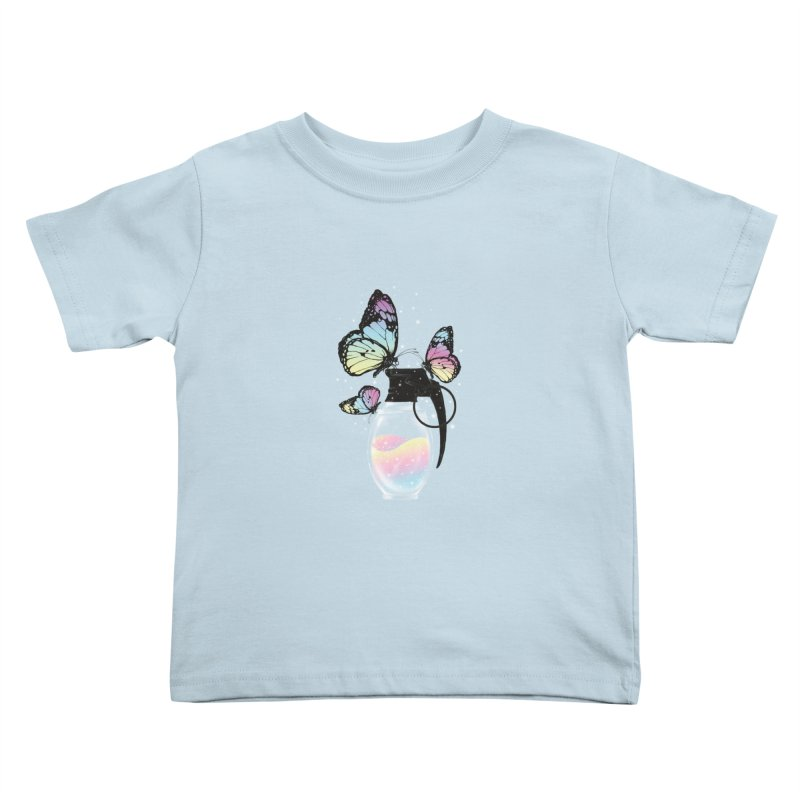 Positive Destruction Kids Toddler T-Shirt by flintskyy's Artist Shop