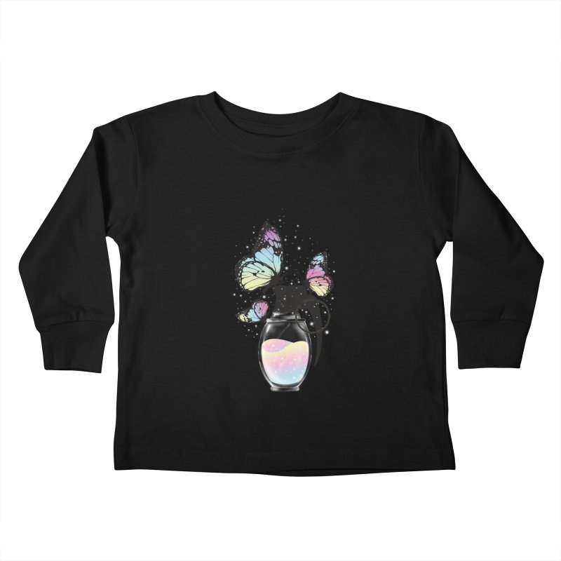Positive Destruction Kids Toddler Longsleeve T-Shirt by flintskyy's Artist Shop