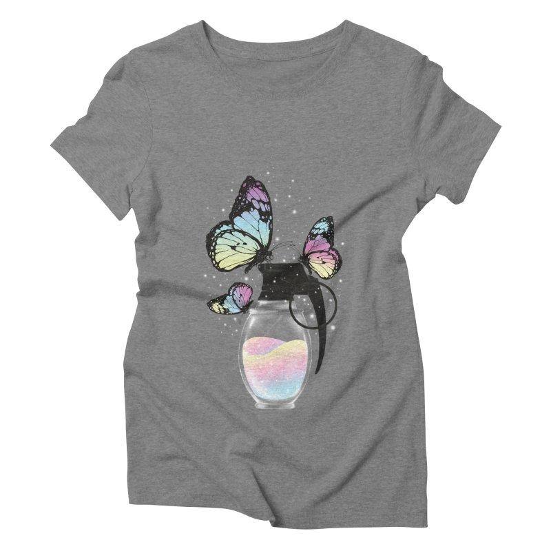 Positive Destruction Women's Triblend T-shirt by flintskyy's Artist Shop