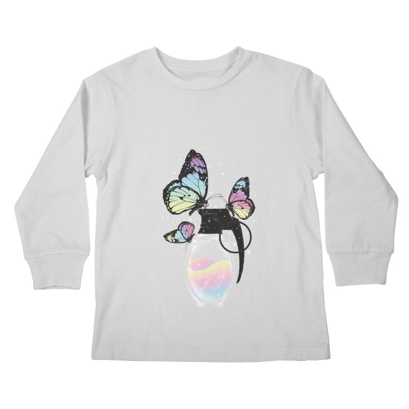 Positive Destruction Kids Longsleeve T-Shirt by flintskyy's Artist Shop