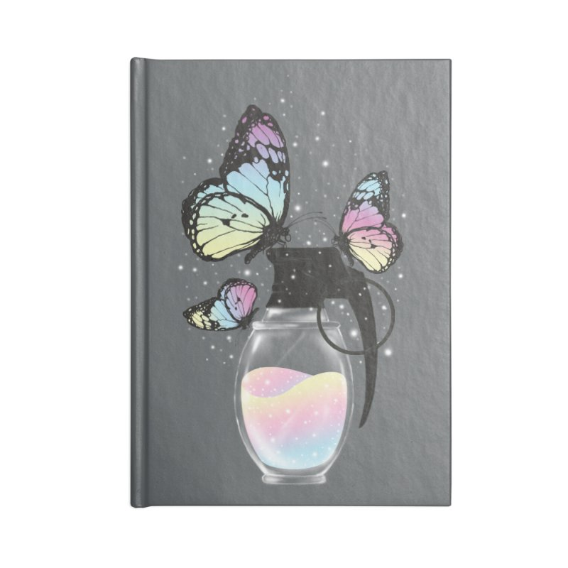 Positive Destruction Accessories Notebook by flintskyy's Artist Shop