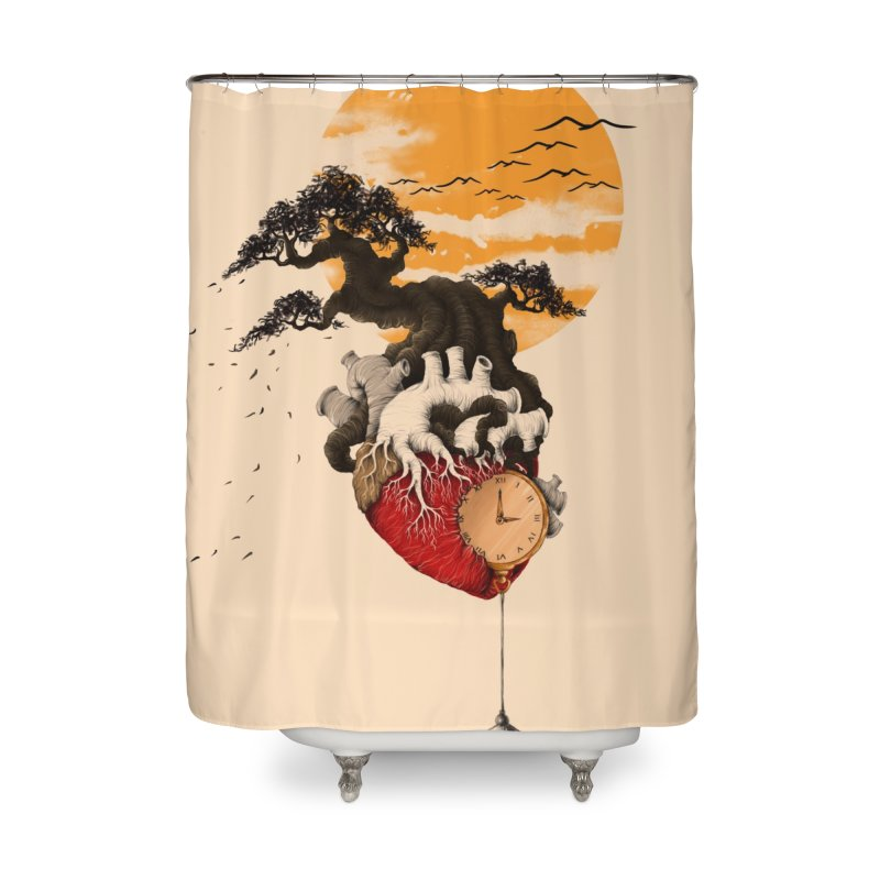 Time Home Shower Curtain by flintskyy's Artist Shop