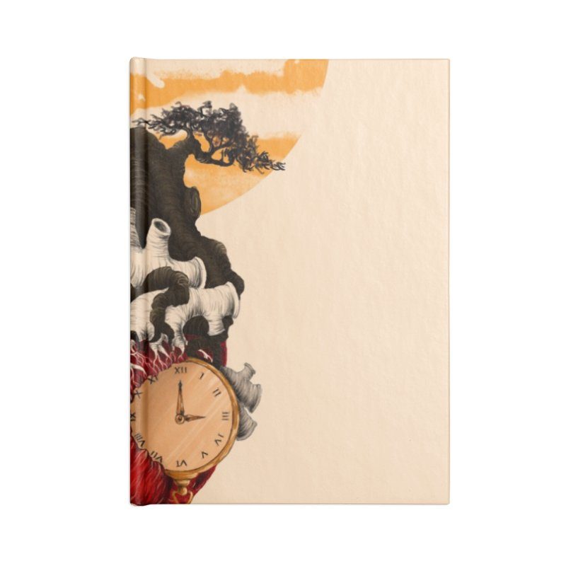 Time Accessories Notebook by flintskyy's Artist Shop
