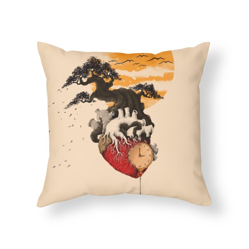 Time Home Throw Pillow by flintskyy's Artist Shop