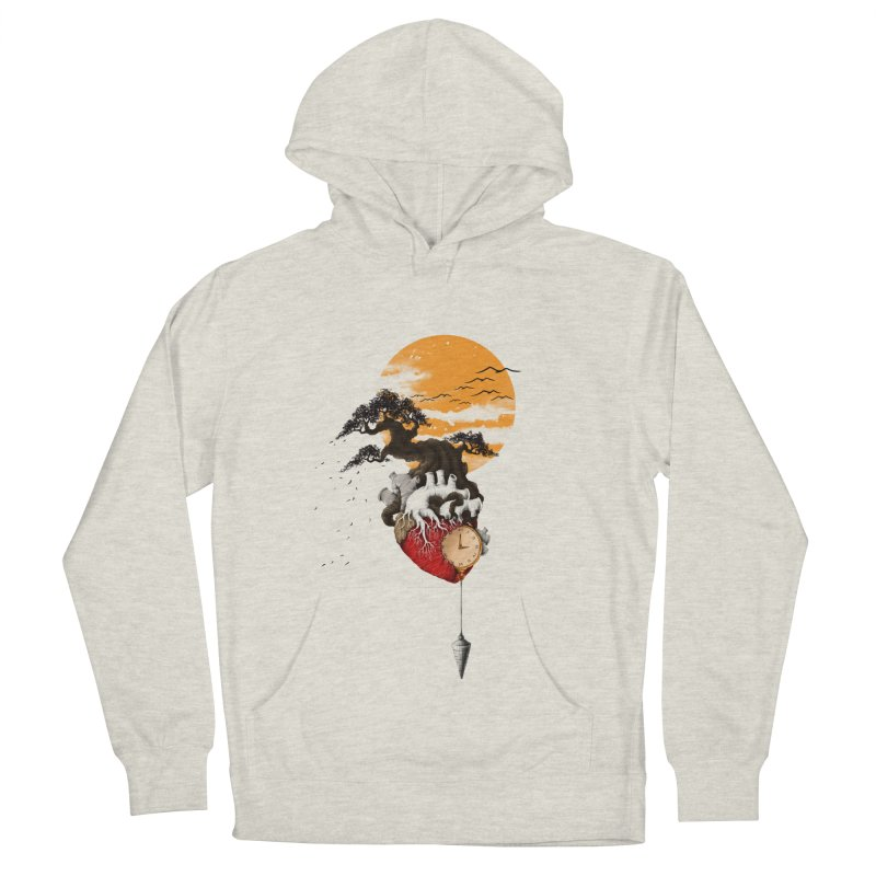 Time Women's French Terry Pullover Hoody by flintskyy's Artist Shop