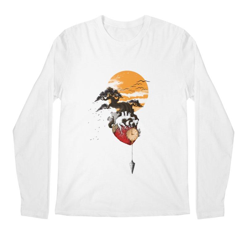 Time Men's Regular Longsleeve T-Shirt by flintskyy's Artist Shop