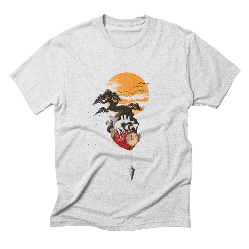 Time Men's Triblend T-Shirt by flintskyy's Artist Shop