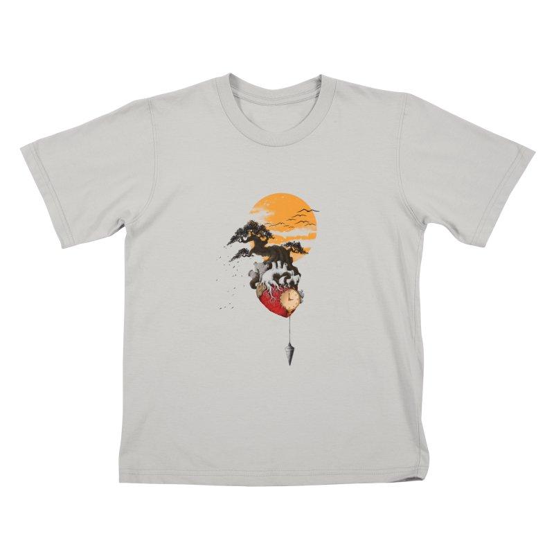 Time Kids T-shirt by flintskyy's Artist Shop