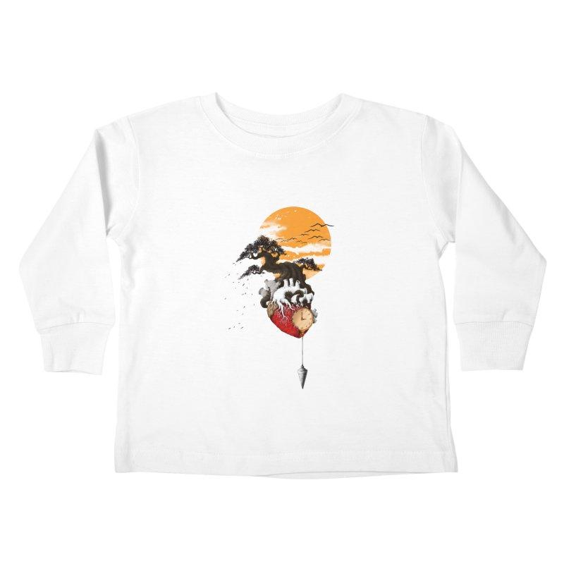 Time Kids Toddler Longsleeve T-Shirt by flintskyy's Artist Shop