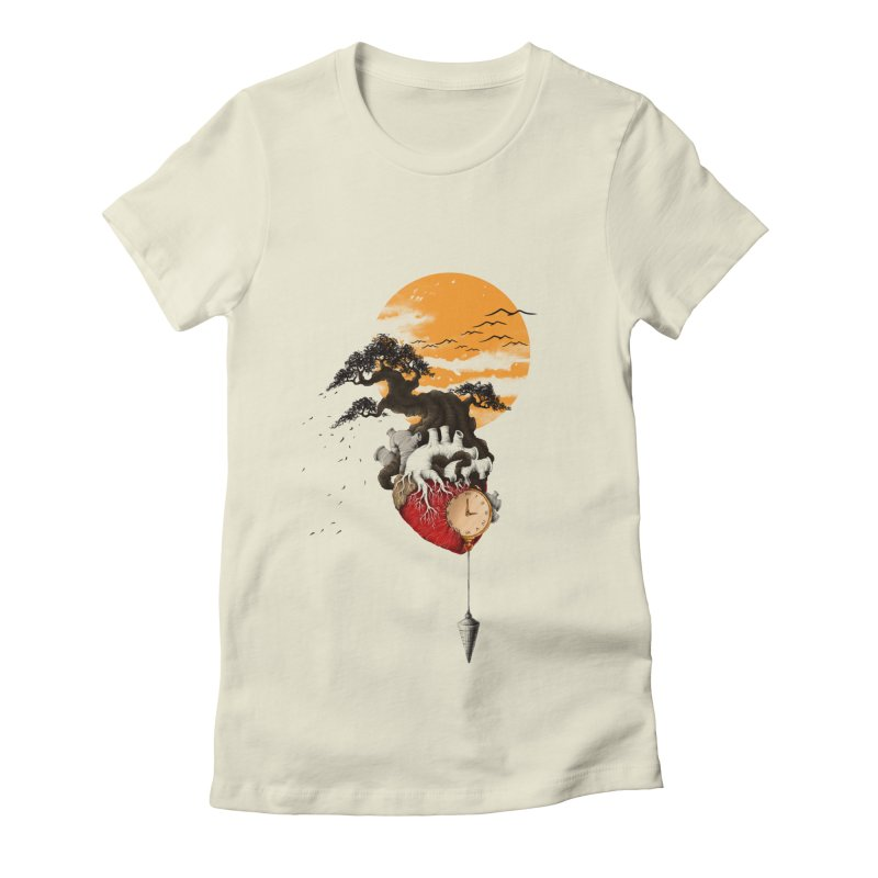 Time Women's Fitted T-Shirt by flintskyy's Artist Shop