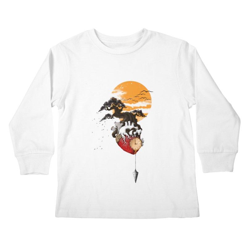 Time Kids Longsleeve T-Shirt by flintskyy's Artist Shop