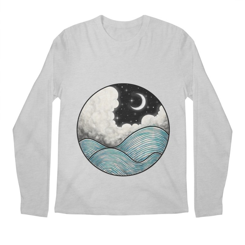 Dreamy Night Men's Longsleeve T-Shirt by flintskyy's Artist Shop