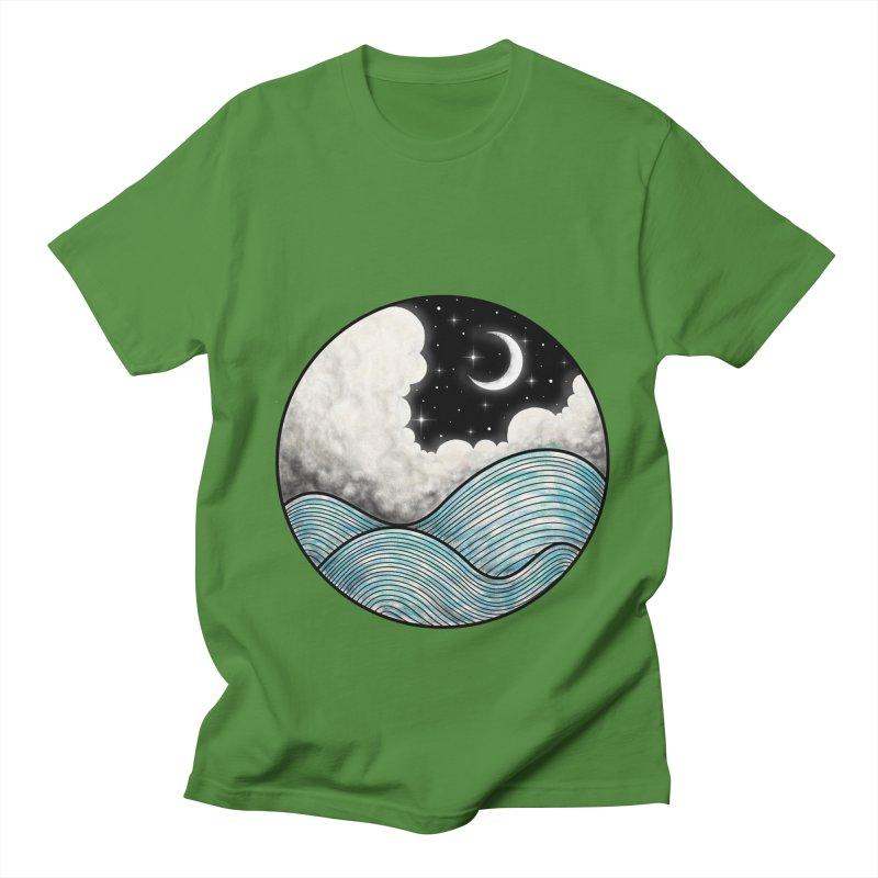 Dreamy Night Women's Regular Unisex T-Shirt by flintskyy's Artist Shop