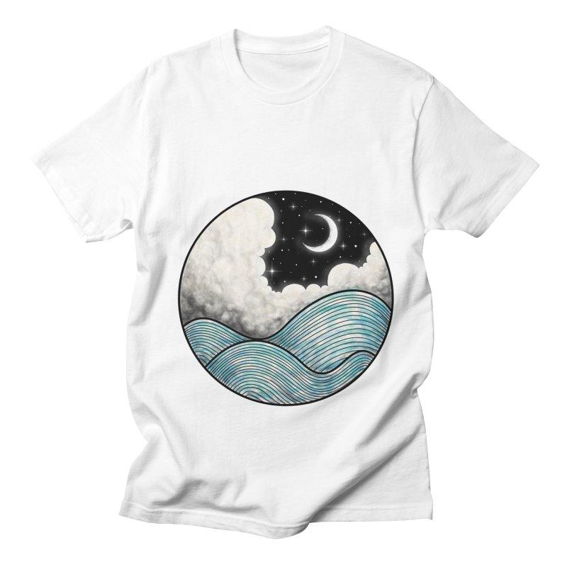 Dreamy Night Men's Regular T-Shirt by flintskyy's Artist Shop