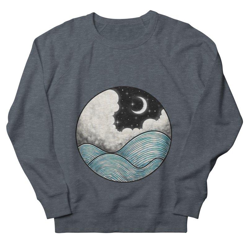 Dreamy Night Women's French Terry Sweatshirt by flintskyy's Artist Shop