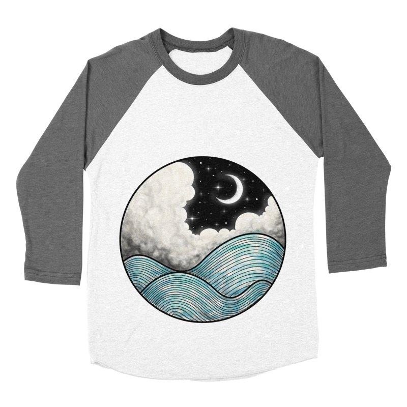 Dreamy Night Women's Baseball Triblend T-Shirt by flintskyy's Artist Shop