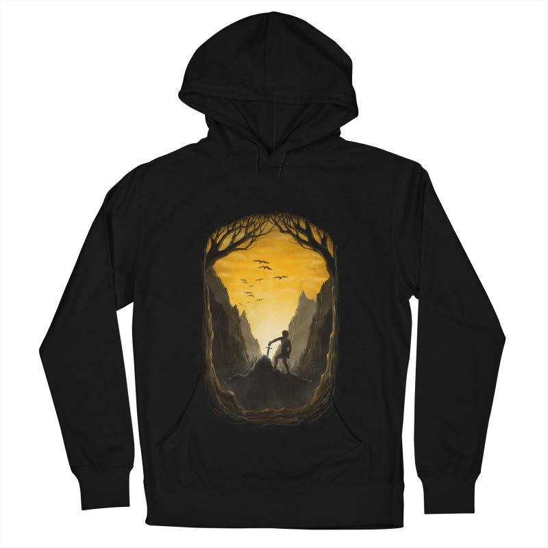 Excalibur Women's French Terry Pullover Hoody by flintskyy's Artist Shop