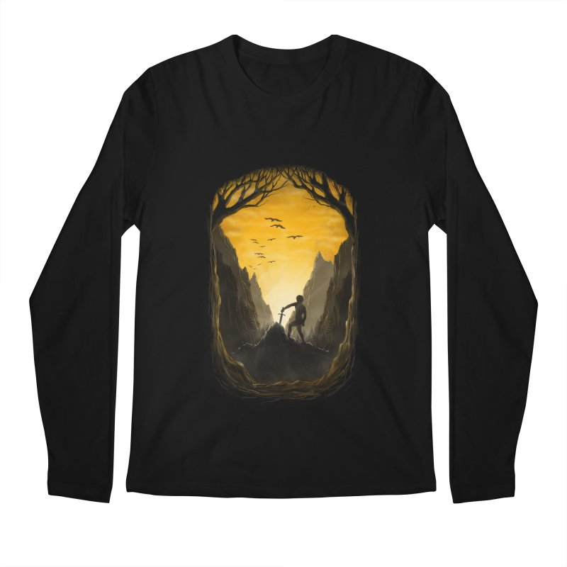 Excalibur Men's Longsleeve T-Shirt by flintskyy's Artist Shop