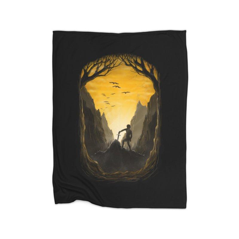 Excalibur Home Blanket by flintskyy's Artist Shop