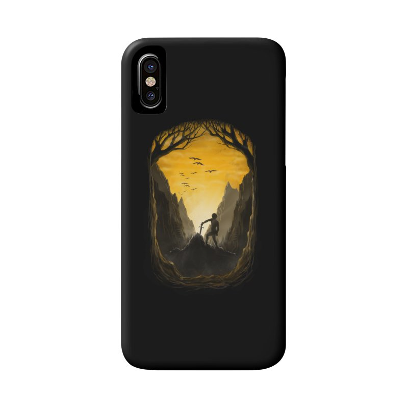 Excalibur Accessories Phone Case by flintskyy's Artist Shop
