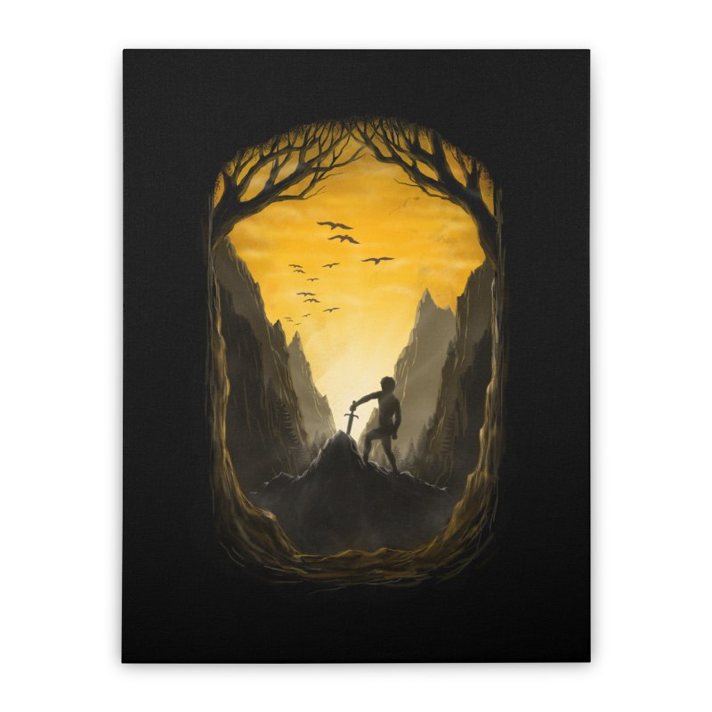 Excalibur Home Stretched Canvas by flintskyy's Artist Shop