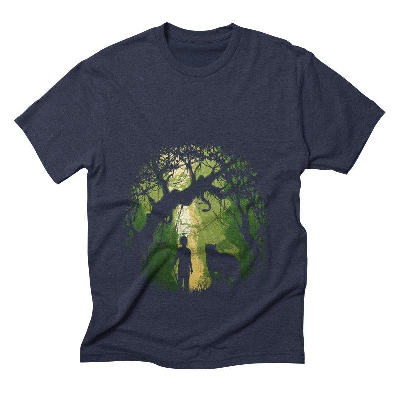 Opening  Men's Triblend T-Shirt by flintskyy's Artist Shop