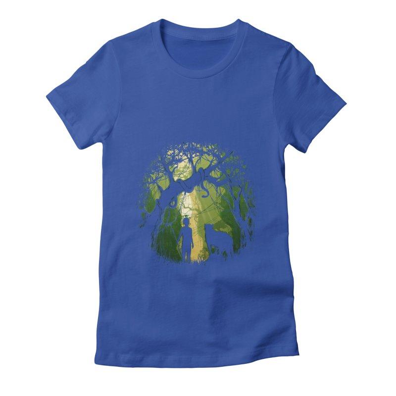 Opening  Women's Fitted T-Shirt by flintskyy's Artist Shop