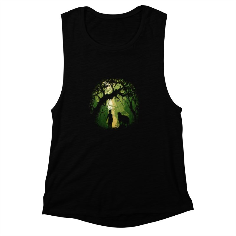 Opening  Women's Muscle Tank by flintskyy's Artist Shop