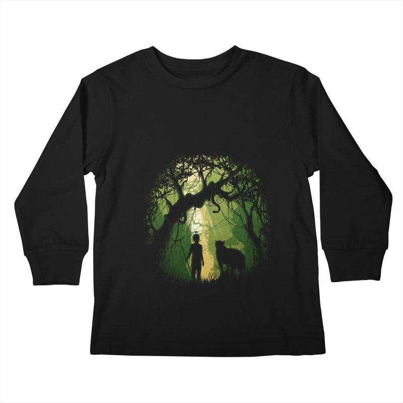 Opening  Kids Longsleeve T-Shirt by flintskyy's Artist Shop