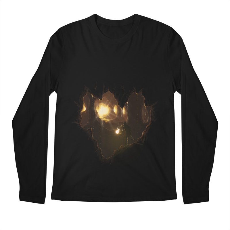 Descend  Men's Longsleeve T-Shirt by flintskyy's Artist Shop