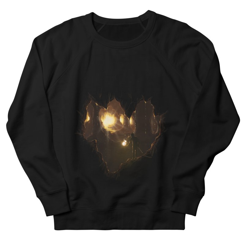 Descend  Women's Sweatshirt by flintskyy's Artist Shop