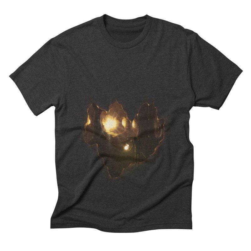 Descend  Men's Triblend T-Shirt by flintskyy's Artist Shop