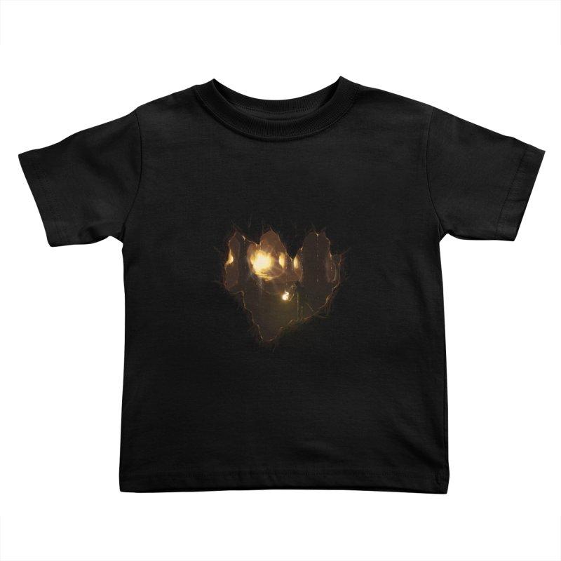 Descend  Kids Toddler T-Shirt by flintskyy's Artist Shop