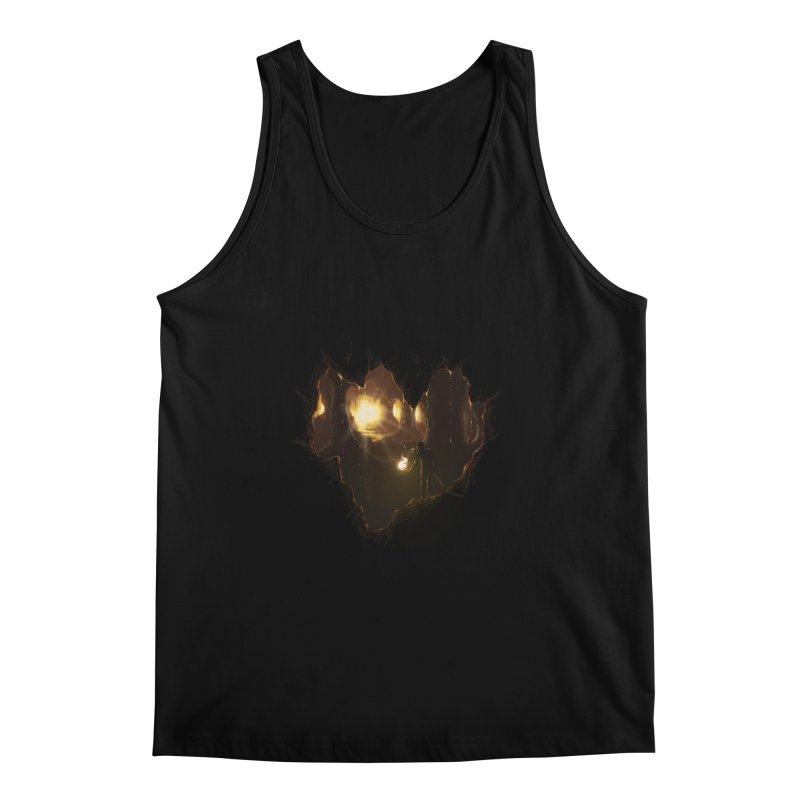 Descend  Men's Tank by flintskyy's Artist Shop