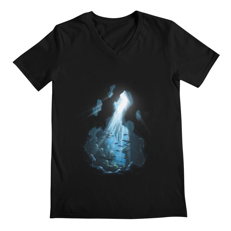 Ascend Men's V-Neck by flintskyy's Artist Shop