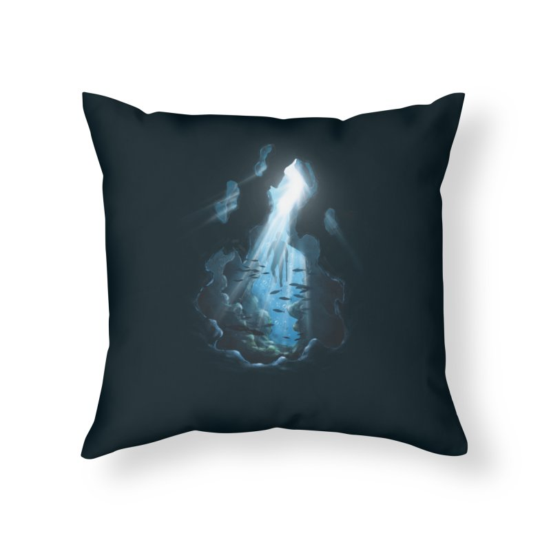 Ascend Home Throw Pillow by flintskyy's Artist Shop