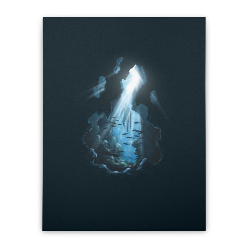 Ascend Home Stretched Canvas by flintskyy's Artist Shop