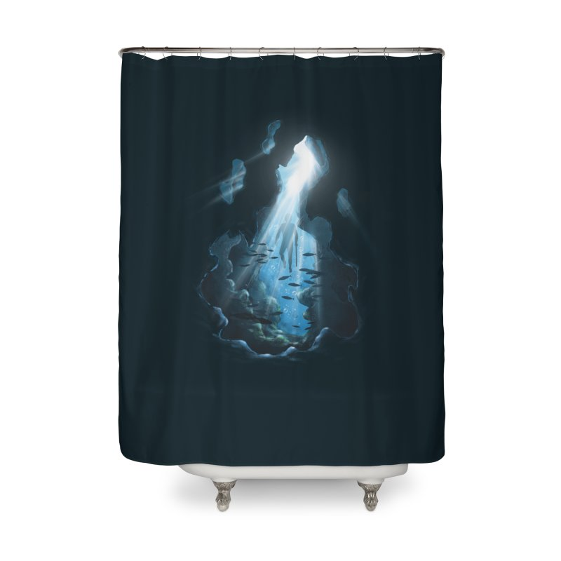 Ascend Home Shower Curtain by flintskyy's Artist Shop
