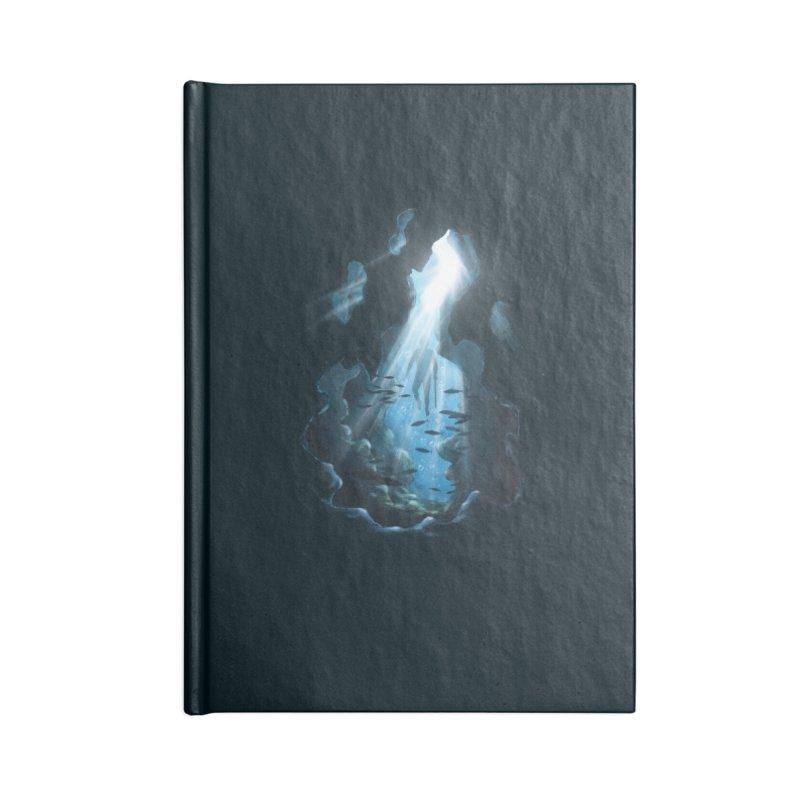 Ascend Accessories Notebook by flintskyy's Artist Shop