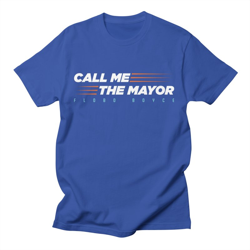 Call Me The Mayor (Orange) Women's T-Shirt by Flobito.com Shop