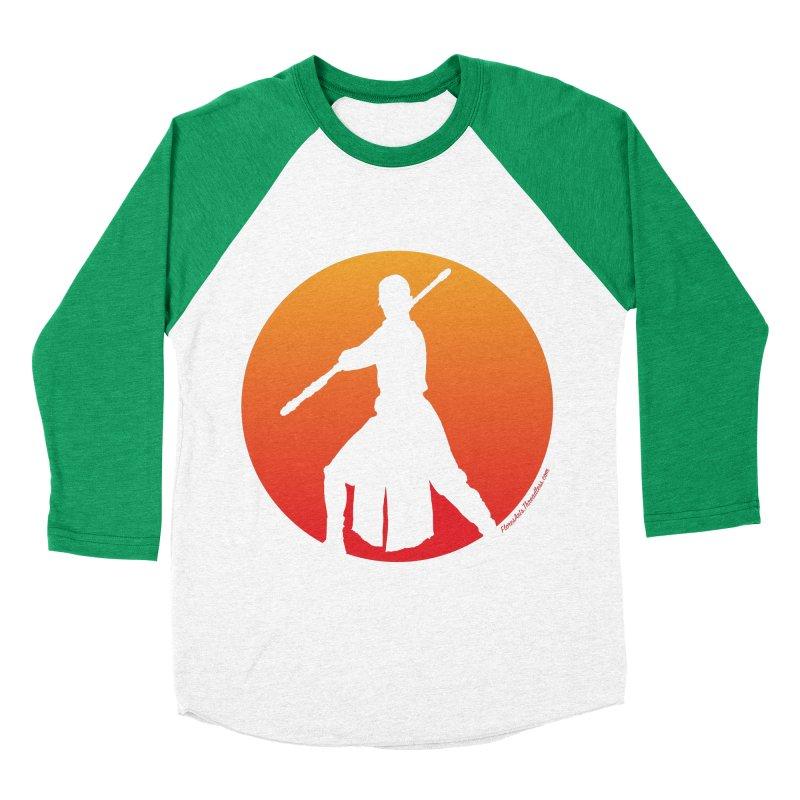 Awaken Men's Baseball Triblend T-Shirt by FloresArts
